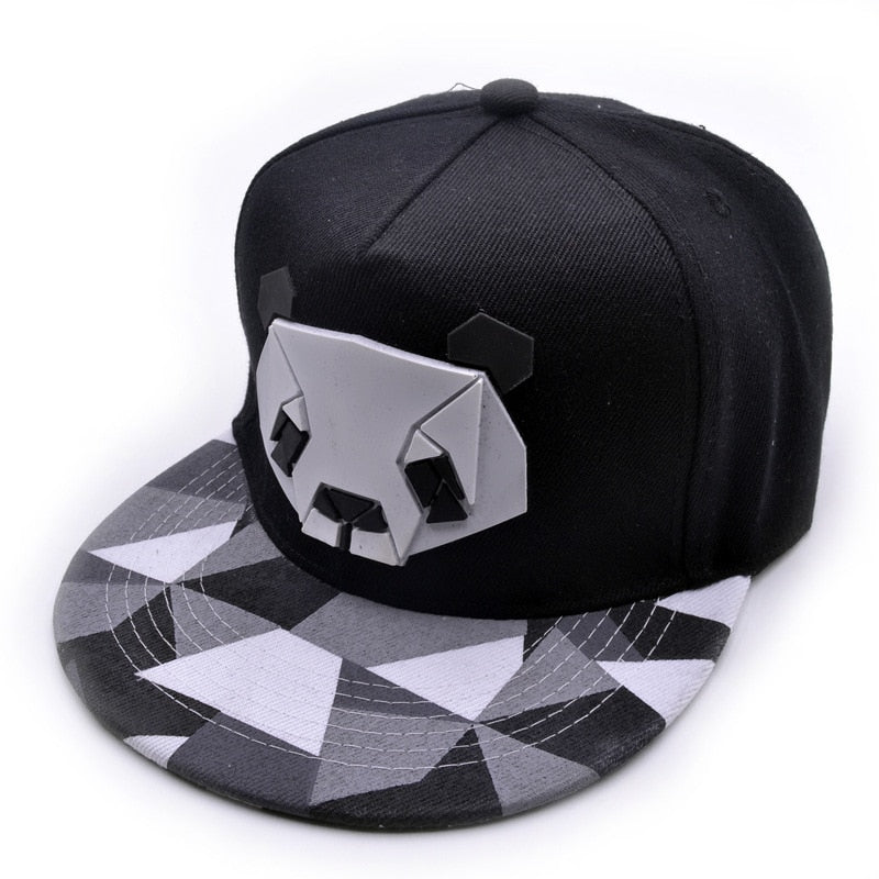 2018 Women Men Snapback Hip-Hop Hat Sport Baseball Panda Cap Golf Ball Gorra Planas Snapback Cap With Straig Visor