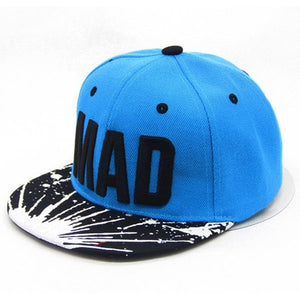 [DINGDNSHOW] 2018 Trend Hat Snapback Cap Children Embroidery  Letter Baseball Caps Kid Boys And Girls Flat Hip Hop Cap