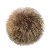Load image into Gallery viewer, DIY Faux Fox Fur Fluffy Pompom Ball for Knitting Hat Hats Pompom Ball