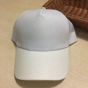 Dad Hat CC Ponytail Baseball Cap Snapback Messy Bun Caps For Women Female Summer Mesh Trucker Hat 2018 Fashion Girl Hip Hop Hats