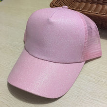 Load image into Gallery viewer, Dad Hat CC Ponytail Baseball Cap Snapback Messy Bun Caps For Women Female Summer Mesh Trucker Hat 2018 Fashion Girl Hip Hop Hats