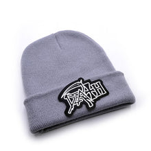 Load image into Gallery viewer, Death band Men's Skullies Winter Knitted Hat Male Beanies Cap Casual Solid Color Sets Headgear Hats For Men