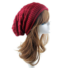 Load image into Gallery viewer, Dec 2 Amazing 2016 New Fashion Women Knit Baggy Beanie Hat Winter Casual Warm  Cap High Quality