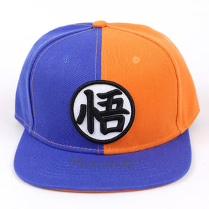 Dragon Ball Z Son Goku Snapback Caps Co Hat Adult Letter Baseball Cap Bboy Hip-hop Hats For Men 5 Styles