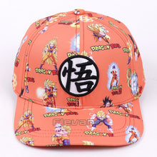 Load image into Gallery viewer, Dragon Ball Z Son Goku Snapback Caps Co Hat Adult Letter Baseball Cap Bboy Hip-hop Hats For Men 5 Styles