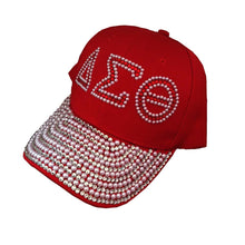 Load image into Gallery viewer, Drop Shopping D Sorority 1913 greek letter Fortitude Scarf  Custom Baseball Cap Hat Rhinestone Delta Sigma Theta Hat  Scarves