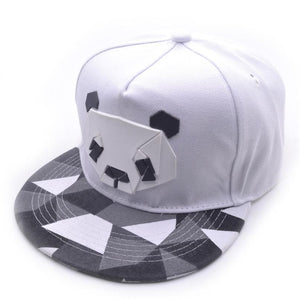 Dropshipping 2018 New Arrival Women's Sports Baseball Panda Cap Snapback Golf ball Hip-Hop Hat Unisex Adjustable Free ship #J05