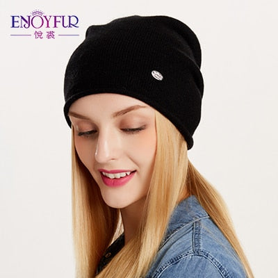 945f15ccf8a Spring Autumn hats for women knitted wo beanies hat 2018 new good ...