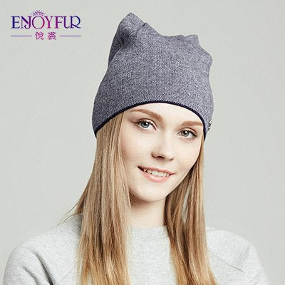 Spring hat for women knitted wo beanies hat cat ear stylish cap 2018 new fashion lovely cap