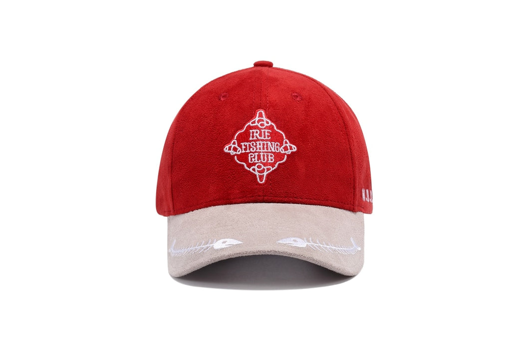 Embroidery Suede Baseball Cap New Men Red Casquette Visor Bone Snapback Women Breathable Sport Sun Cap Hip Hop Flat Hats Dad Hat