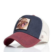 Load image into Gallery viewer, Evrfelan Fashion Mesh Baseball Cap Unisex Lovely Animals Caps Women&Men Snapback Cap Dad Hat Summer bone Adjustable gorras