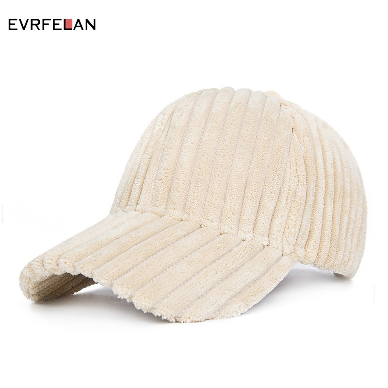 New Fashion Winter Baseball Cap Women Solid Color Thick Warm Autu Winter Baseball Cap Snapback Hat Girls Adjustable