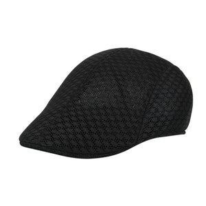 3b983661a9d Adjustable Beret Caps Spring Summer Outdoor Sun Breathable Bone Brim Hats  Womens Mens Herringbone Solid Flat