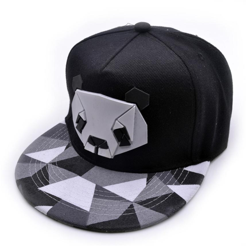 New Fashion Snapback Cap For Men Women Snapback Hat Outdoor Hat Style Baseball Hat Cute Panda Baseball Cap Adjustable