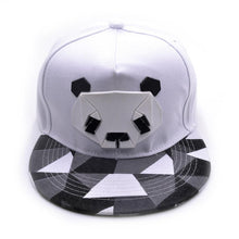 Load image into Gallery viewer, New Fashion Snapback Cap For Men Women Snapback Hat Outdoor Hat Style Baseball Hat Cute Panda Baseball Cap Adjustable
