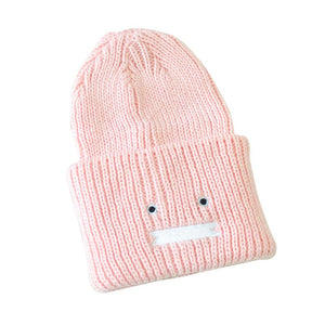 Trendy Chic Knitting Slouchy Baggy Winter Hat Unisex Hat polyester bucket  hat women men Breathable Casual 828ae1db1f3