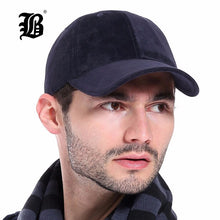 Load image into Gallery viewer, [FLB] 100% Cot Autu And Winter Baseball Cap Men Sport Hats Casual hats Solid Color Snapback Fall hat caps A00515