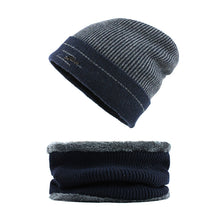 Load image into Gallery viewer, [FLB] Winter Beanie Hat Scarf skullies beanies Soft Skull Warm Baggy Cap Mask Gorros Winter Hats For Men Women Knitted F18042