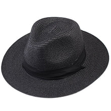 Load image into Gallery viewer, Drop Shipping 2020 Summer Woemen Hat Sun Hats for Women Straw Hat for Girls Panama Women's Hat SH040