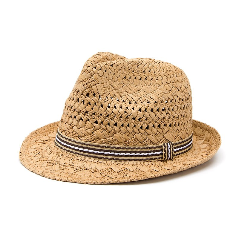 bf6c8de7e9189 Fashion 100% Handwork Child Summer straw Sun hat Boy Boho Beach ...