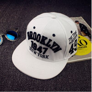 Fashion 1947 Brooklyn Style Snapback Baseball Cap Hats Of Good Quality Snapback Cap New York Hip-hop Cap