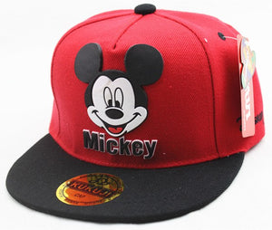 Fashion Cartoon Mouse Kids Hat Boys And Girls Healthy Comfortable Cute Baseball Caps Adumbral Ventilate Adjustable Baseball Hat