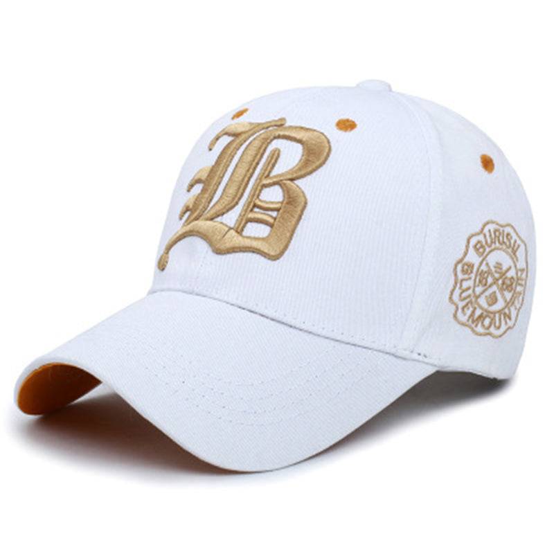 Fashion Embroidery Baseball Caps for Men Women Hip Pop Summer Adjustable Shading Outdoor Breathable Snapback Sun Protection Hat