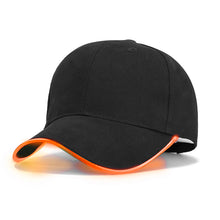 Load image into Gallery viewer, Fashion LED Light Baseball Cap For Women Man LED Hat Brand Female Baseball Cap Women Boys Fitted Hats Glow In The Dark Caps