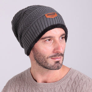 e7510e446e9 Fashion Male Bonnet Hat Casual Arrow Stripes Skullies Beanies Warm Knitting Motorcycle  Beanies Hats For Boy