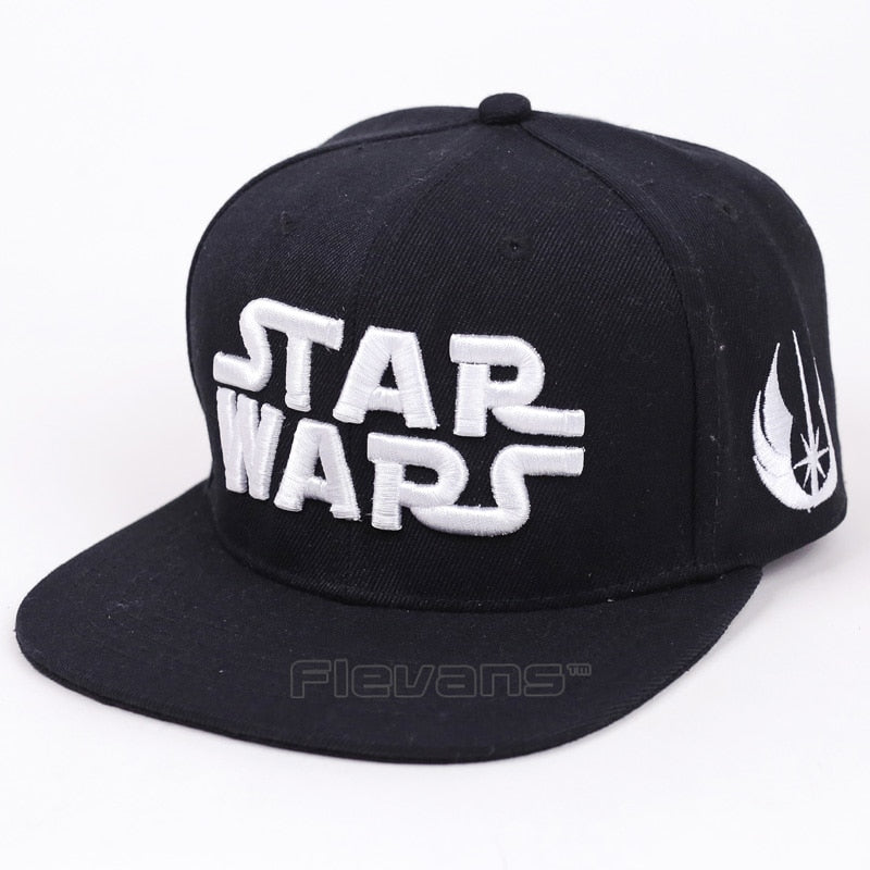 Fashion New Star Wars Letter Embroidery Snapback Caps Baseball Hats Bboy Hip-hop Caps Hats For Men Women