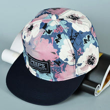 Load image into Gallery viewer, Fashion Unisex Men's women Adjustable Baseball Cap Hip Hop hat Co Floral Print Dancing Boys Girls Baseball Cap