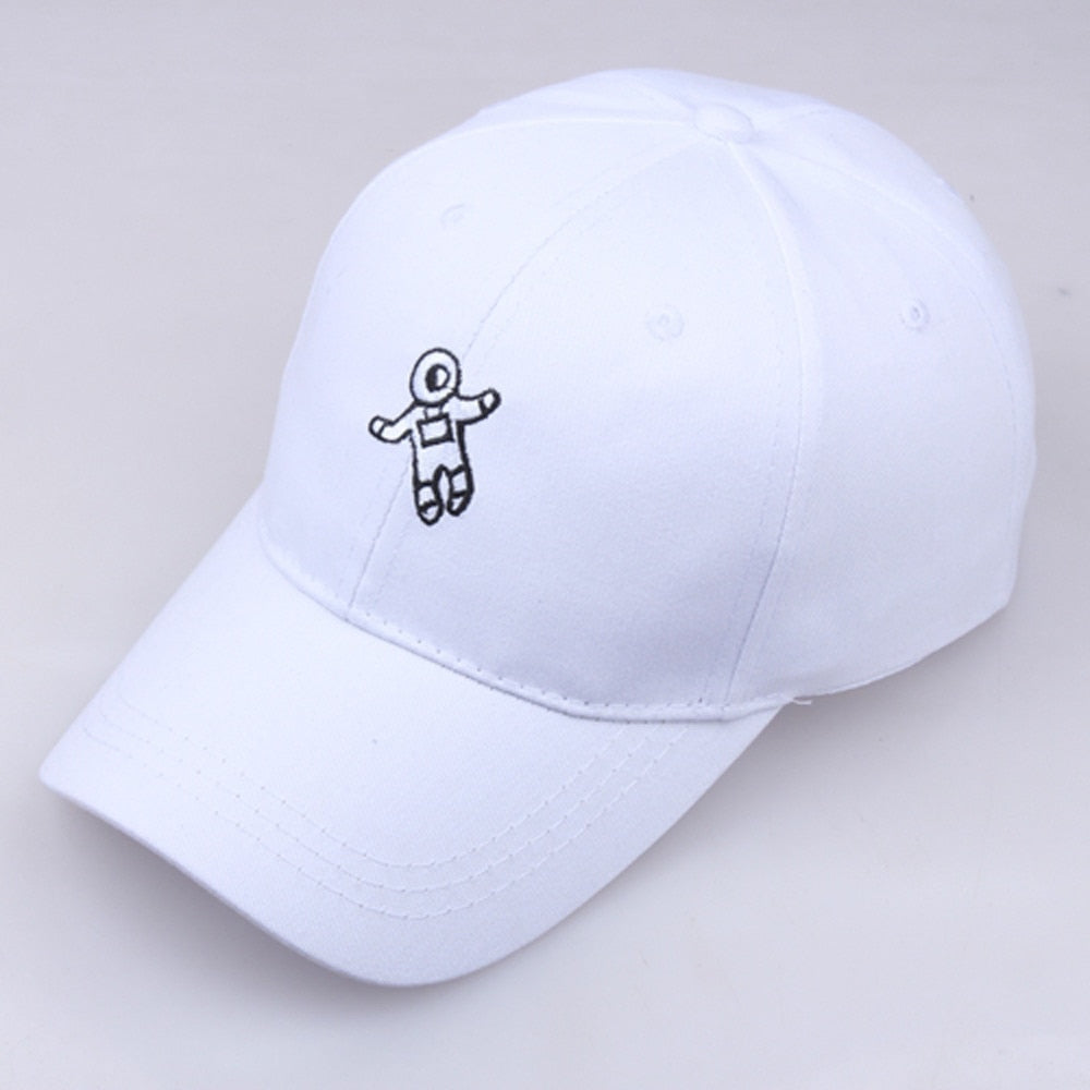 Fashion dad hat astronaut emberoidery baseball cap Couple Hat good quality snapback hats brand hat caps wholesale drop shipping