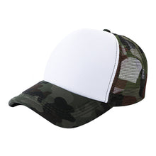 Load image into Gallery viewer, 2020 Crystal High Quality Unisex Camouflage Mesh Baseball Cap Hat Blank Visor Hat Adjustable Gift