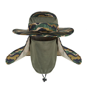 8ec6bded Fishing Cap Breathable Sunshade Outdoor Sport Visor Hat UV Protection Face  Neck Cover Sun Protect Cap