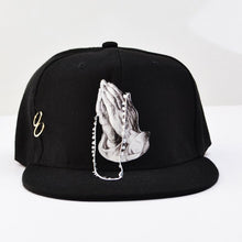 Load image into Gallery viewer, Flat Full Baseball Cap For Men, Fmale Straig Hip Hop  Snapback Cap, Design Mouth Fish Cat 3D Baseball Cap