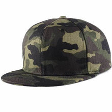 Load image into Gallery viewer, Flexfit Brand Camo Snapback Caps 2017 New Hip Hop Hats For Men Women Camouflage Baseball Cap Style Trucker Bone Aba Reta 2018