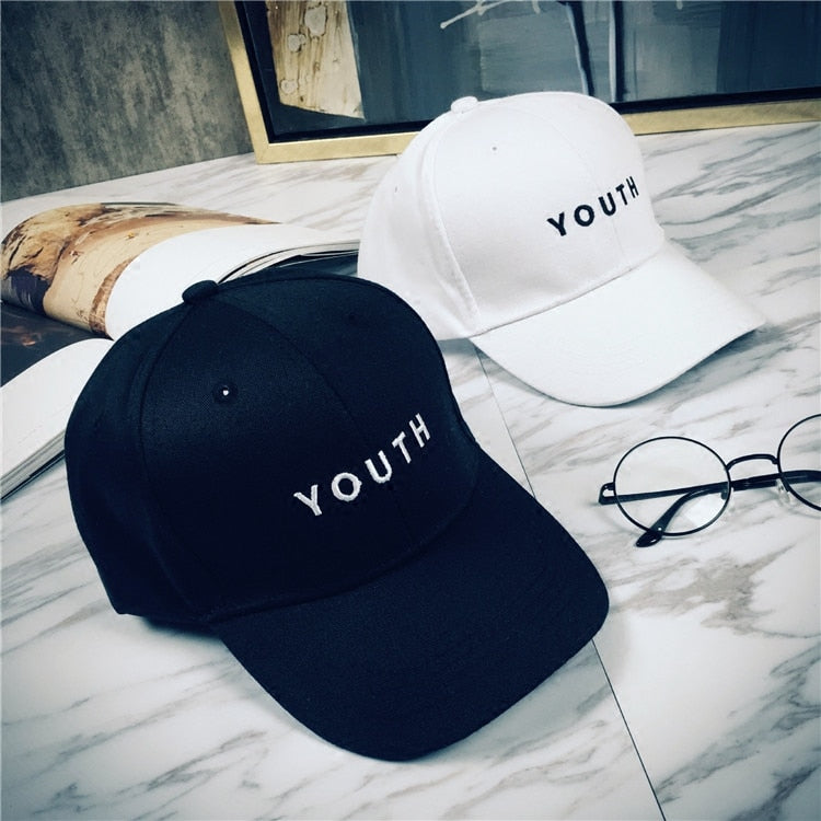 Four hat shopping tide brand hip-hop cap embroidery letter male baseball cap female couples all-match peaked cap cap