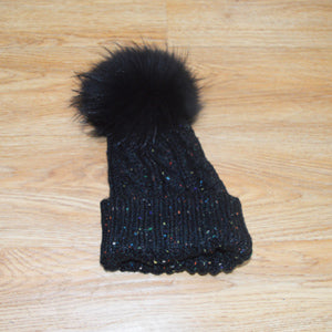 Free Shipping SJ790 Cheap Drop Shipping New Arrival Woman Christmas Hats with Pom Poms