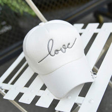 Load image into Gallery viewer, Co Female Baseball Cap Metal Ring Fashion Lady Summer Hat Hip Hop Show Hats Women Shopping Sun Hat Cute Breathable