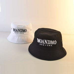 f341543fff9 GD BIGBANG Black Cot Casual Bucket Hat Men s Women Embroidery Fishing  Fisherman Hat Wide Brim Caps MOANDMO Hip Hop Sport Hats