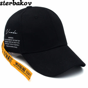GD Ring Long Belt Cot Baseball Cap Hip Hop Fashion Men's KPOP BTS Peaceminusone Bone Summer Hats Women's snapback hat