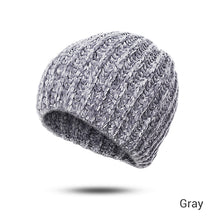 Load image into Gallery viewer, GROUP JUMP New Winter Hats Beanie Women Soft Warm Winter Hat Flexible Cotton Hats Female Skullies Beanies Cheap Hat Dropshipping