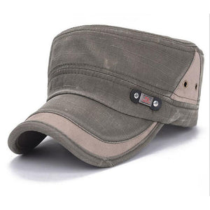 [Gsycl]2017 Men's Flat cap  Do the old fashion hat  Spring sun shading caps for men colors black brown blue army green beige