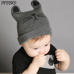0-12months Baby Hat Cot Beanie Cap Toddler Infant Baby Girls and Boys  Knitted Hats Kids Hats   Caps baby cap GH119 7db62556a4a