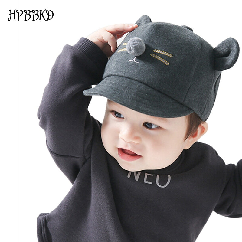 Fashion Baby Girl Boy Hat Newborn Infant Toddler Cap Girl Boy Unisex Cot  Baseball Cap Kids Hat Children Sun Hats GH213 2432a16cefd