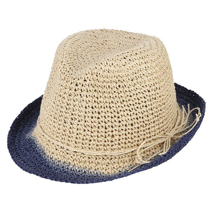 2792299d6dced0 ... Load image into Gallery viewer, Handmade Crochet Pure Straw Hats Men  Summer Sun Hat Breathable ...