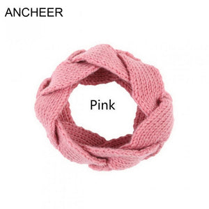 Headband 20g Warm Solid Headwear Acrylic Winter Fashion Women Wo Knit