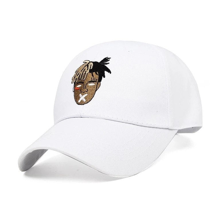 High Quality Cot Singer xxxtentacion Dreadlocks Snapback Cap For Men Women Hip Hop Dad Hat Baseball Cap Bone Garros