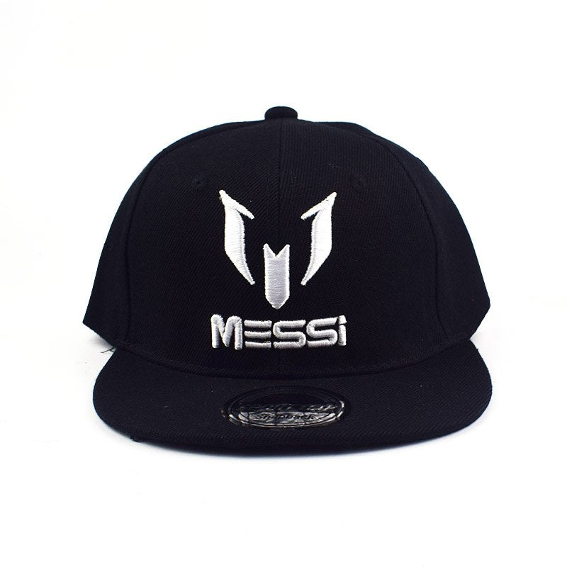 High Quality Football cap MESSI Baseball Caps Boys Girls Kids Children hat Adjust Soccer Messi Snapback Hip Hop Hat