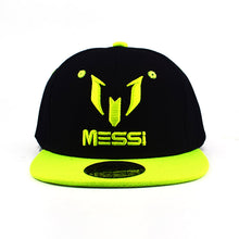 Load image into Gallery viewer, High Quality Football cap MESSI Baseball Caps Boys Girls Kids Children hat Adjust Soccer Messi Snapback Hip Hop Hat